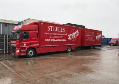 Steeles deovery vehicles
