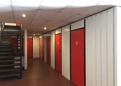 self storage indoor rooms