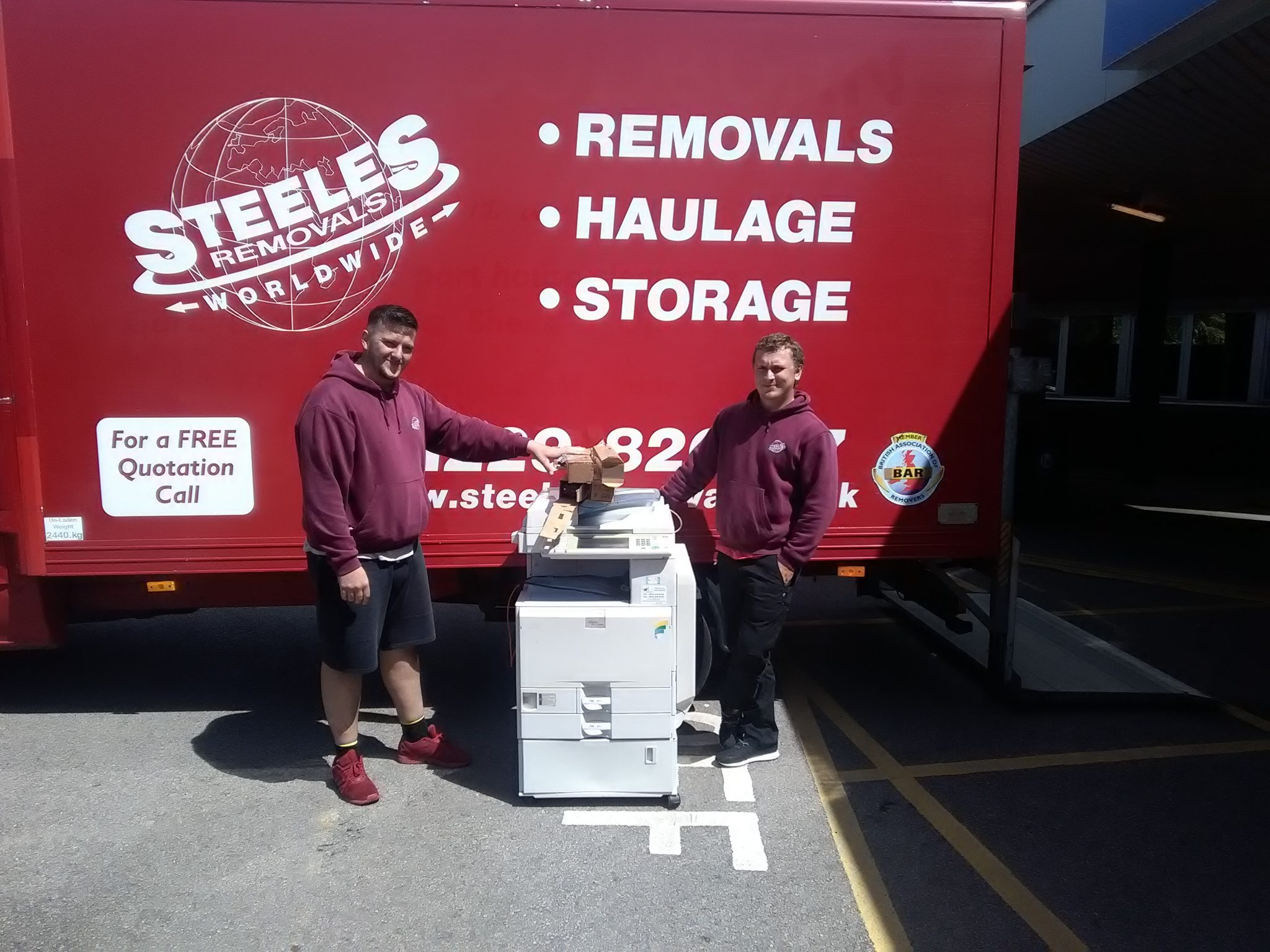 Steeles Removals