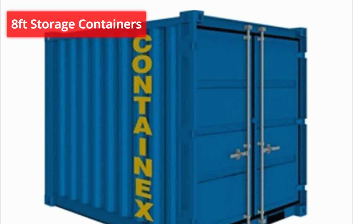 8ft Storage Containers