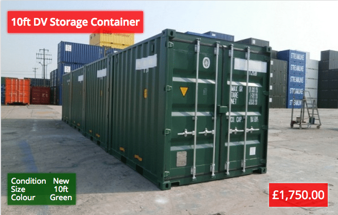 10ft DV Storage Containers