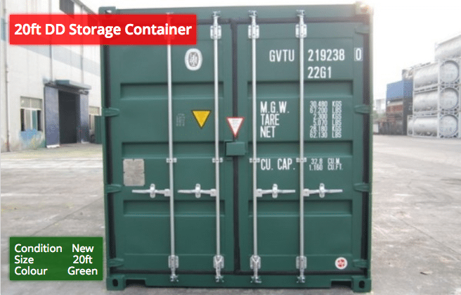 20ft DD Storage Containers