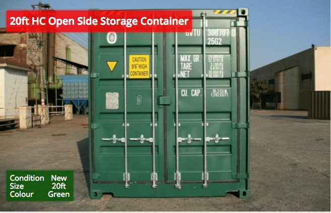 20ft HC Storage Containers